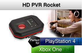 HD PVR Rocket - a portable video game recorder